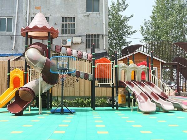 临泉县刘老家希望幼儿园为什么选择开心玩具游乐设施产品