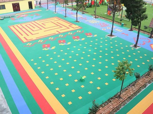 周口市沈丘县天才幼儿园推荐开心玩具悬浮地板