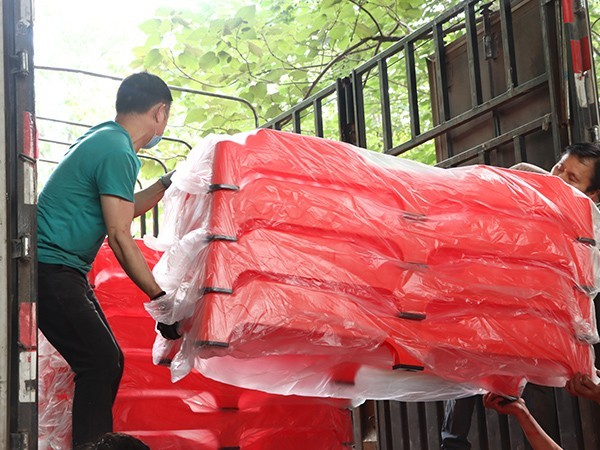 周口市淮阳区阳光实验幼儿园大批量采购开心玩具塑料一体床